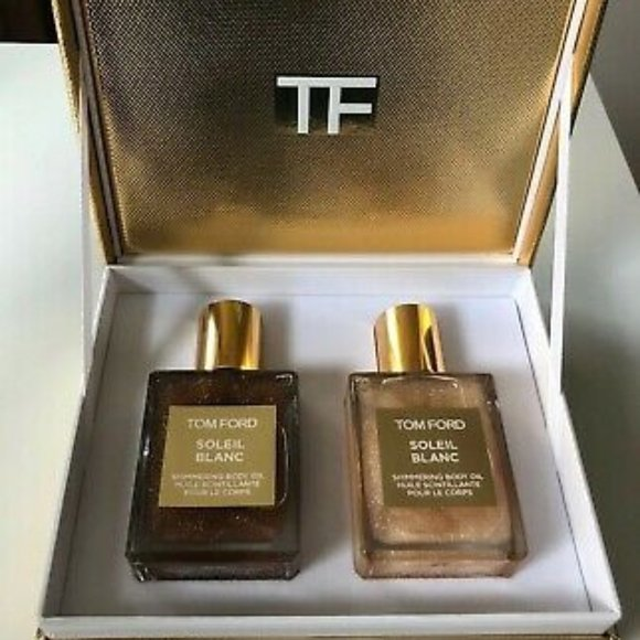 Tom Ford Other - Mini Soleil Blanc Shimmering Body Oil Set
